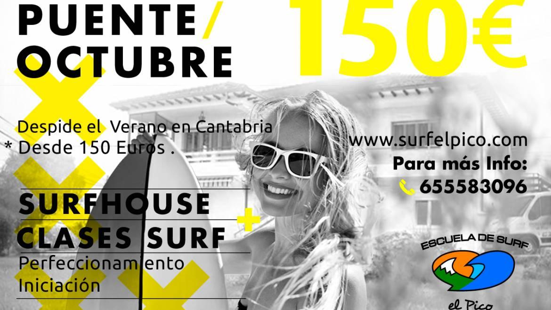 Oferta Surfcamp Puente del Pilar 2018
