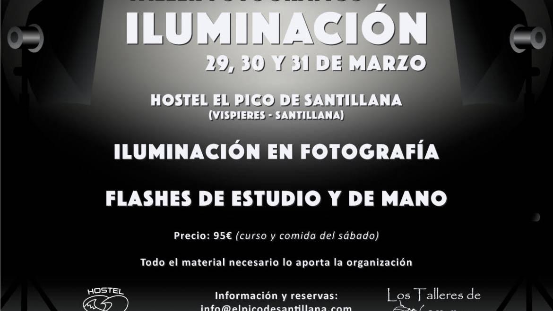 TALLER FOTOGRÁFICO DE ILUMINACIÓN  📸