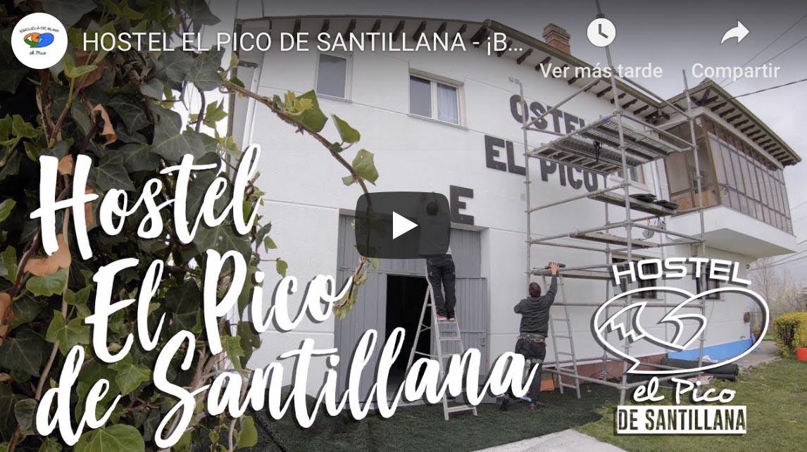 ¡Así avanza El Pico de Santillana!