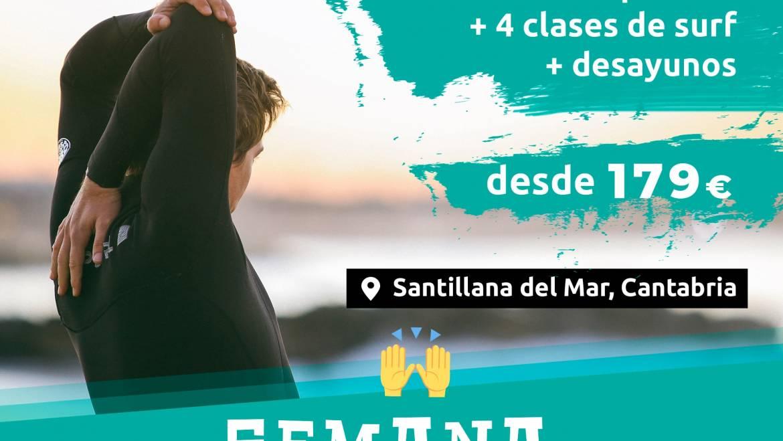 SURFCAMP SEMANA SANTA 2020 EN CANTABRIA ESCUELA DE SURF el Pico