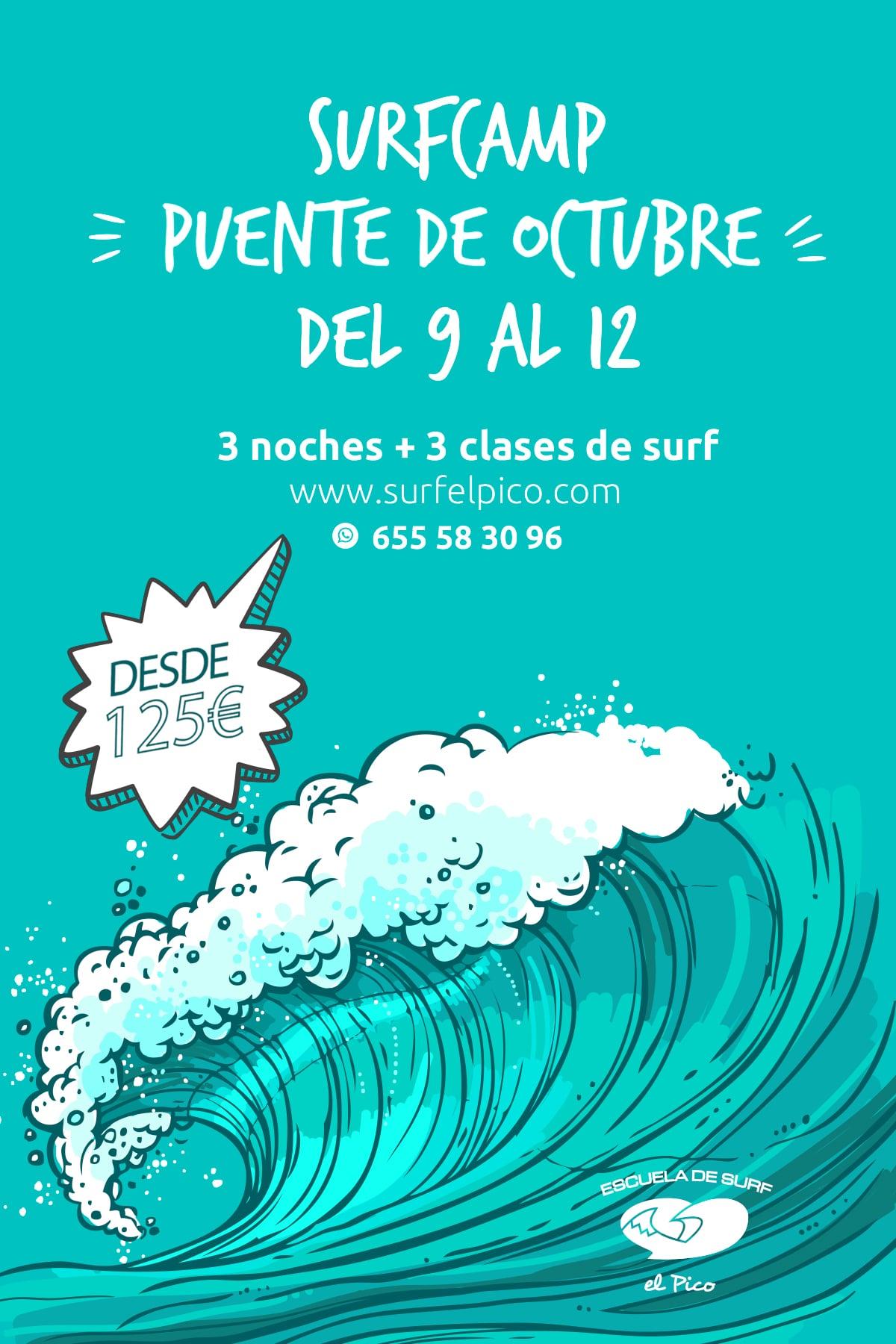 SURFCAMP PUENTE DE OCTUBRE 2020