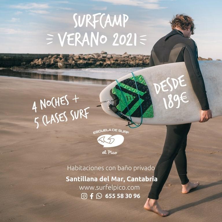 Surfcamp de verano en Cantabria 2021: Surf camp verano en Cantabria